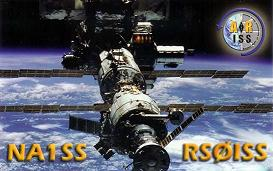 QSL card from the International Space Station