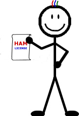 Taking the ham radio license exam