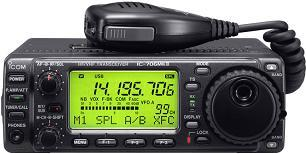 Icom 706MKIIG mobile amateur radio
