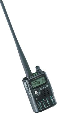 Kenwood TH F6A handheld amateur radio