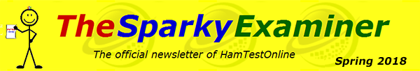 The Sparky Examiner - The official newsletter of HamTestOnline